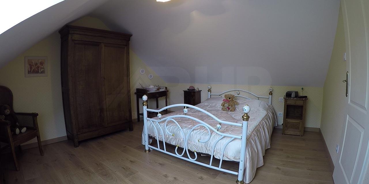 Chambre aménagé dans des combles Phenix