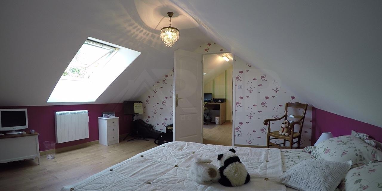 Comble Phenix aménagé en chambre