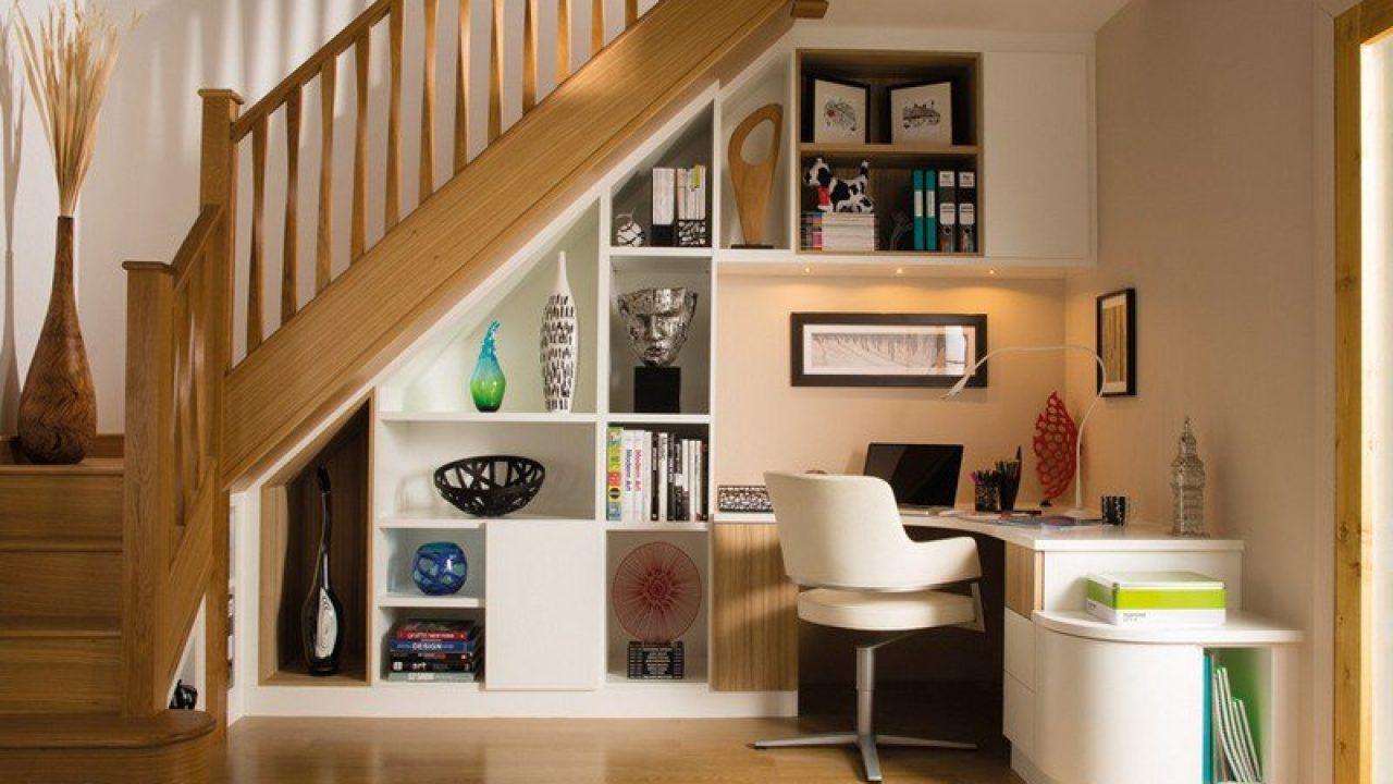 Module Placard Sous Pente découvrez 5 façons d'intégrer des rangements à votre escalier